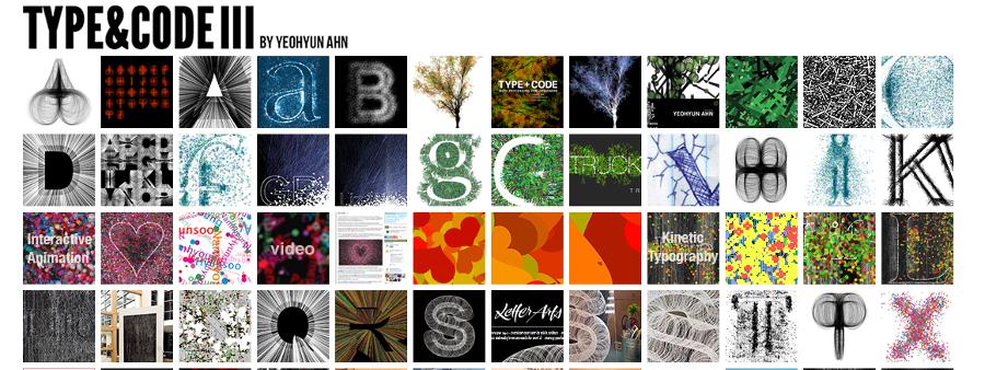 Generative Typography : anna carreras